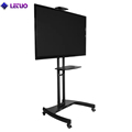 TV Cart TV Trolley White TV Stand For Lcd Led Oled Plasma Flat Panel Screens