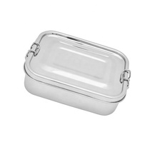 Lunchbox Eco Friendly Stainless Steel Food Rectangle Lunch Box