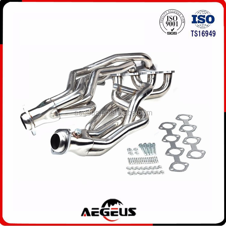 High quality stainless steel long tube racing exhaust manifold for 96-04 Ford Mustang GT 4.6L V8