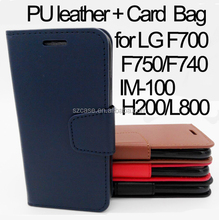 Flip Wallet PU Leather Case Cover for Huawei P9 Lite , Hot Card Bag leather case for Huawei Be Y