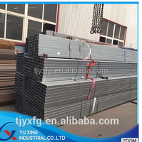Pre galvanised square steel tube zinc coat 40g-100g/m2