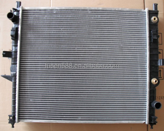 OEM:1635000003 Auto engine radiator pa66 gf30 from OEM manufacturer for M-CLASS W163