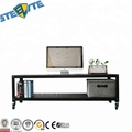 Modern Movable Studio Collection Tv Media Stand/Table On Wheels