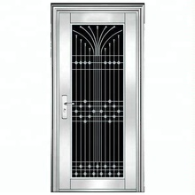 High grade commercial stainless steel safety grill door design malaysia prices