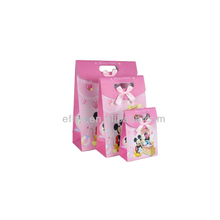 2013 Delicate Pink Mickey Mouse gift wrapping bag made in China