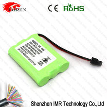 Hot selling Ni-Mh BT-446 DC3.6V 800mah Rechargeable Battery Pack