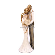European Style Loving Couple Figurines Wedding Decoration Ornaments Gift Resin Craft