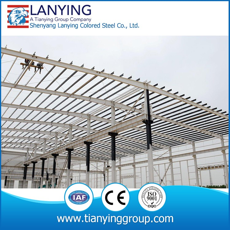 Steel structure frame /skeleton for warehouse/factory/workshop building