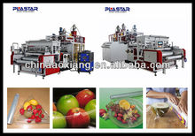 Top10 best price stretch PVC PE 2layer cast film automatic stretch blow moulding machine edible film machine