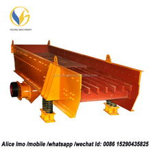 Yigong vibrating feeder cheap prices motor 96- 560tph ZSW hoper small vibrating feeder, vibrating feeder for stones many ores