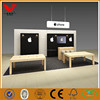 OEM China manufacture interior designs mobile phone shop display table stands