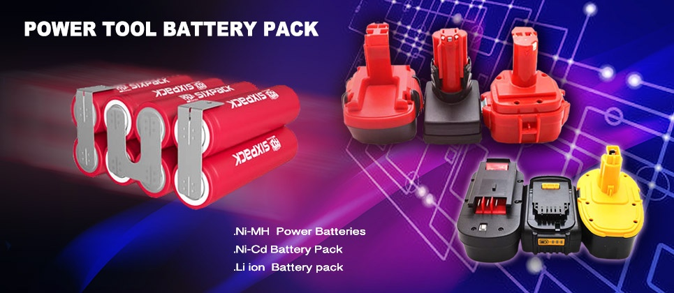 25.2 V Power Tools 18650 Li-ion Battery Replacements 5000mAh