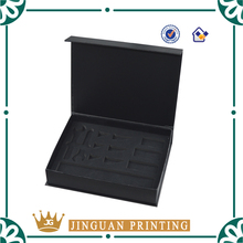 Customized Gift Box Cosmetics Packaging Printing Cardboard Magnet Paper Box With EVA Insert