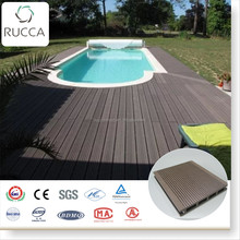 2018 RUCCA synthetic solid pvc decking lumber trailer decking