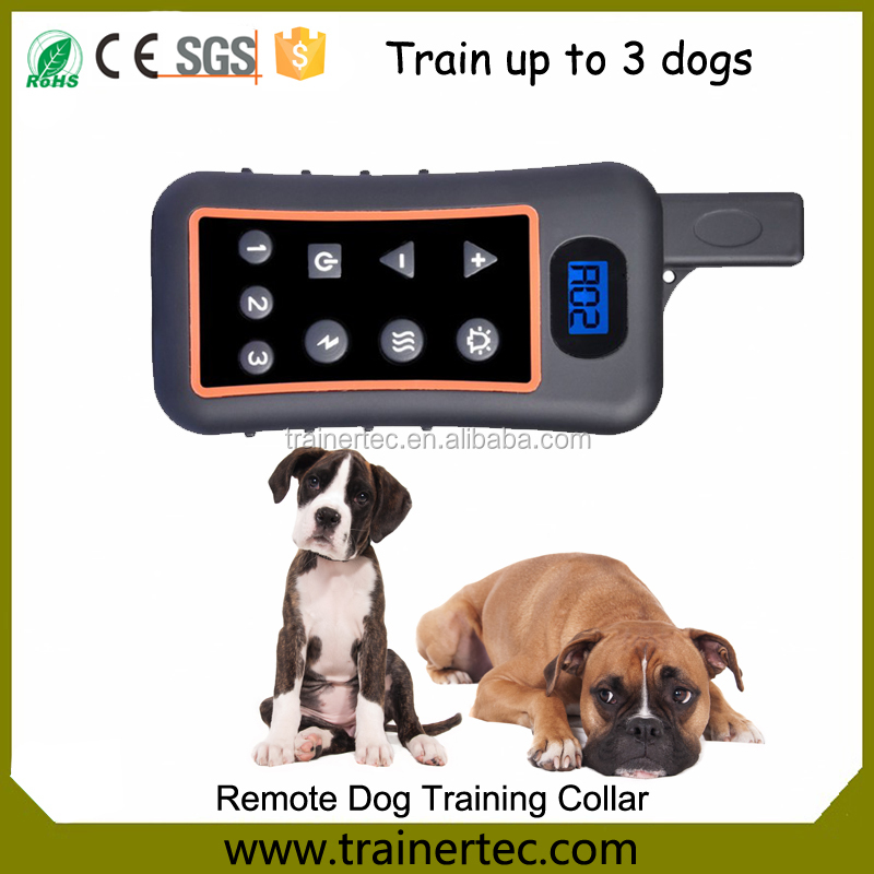 Youtube dog training with e-collar with waterproof 1200m
