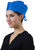 Disposable pp nonwoven surgeon cap surgical cap doctor cap with tie on/bouffant surgical cap with elastic