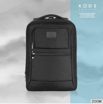[KODE SQUARE] 15.6 inch business bag laptop travel backpack (KCWM-BP-002-BK)