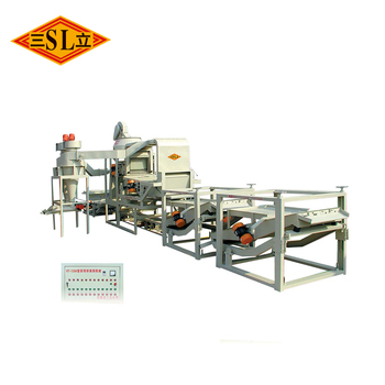 SL-5 wheat seed cleaning plant