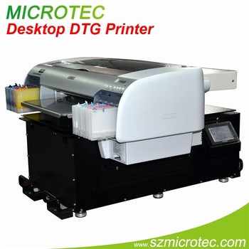 A2 Direct To Garment Printing Machine Textile Printer