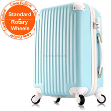 LOVEFOLLOW candy color ABS Hard shell trolley travel Luggage suitcase