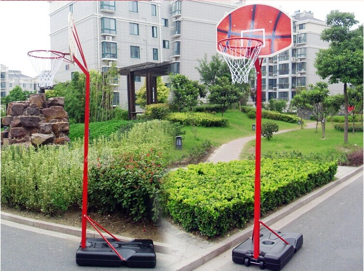 kid hydraulic basketball stand to play basketball