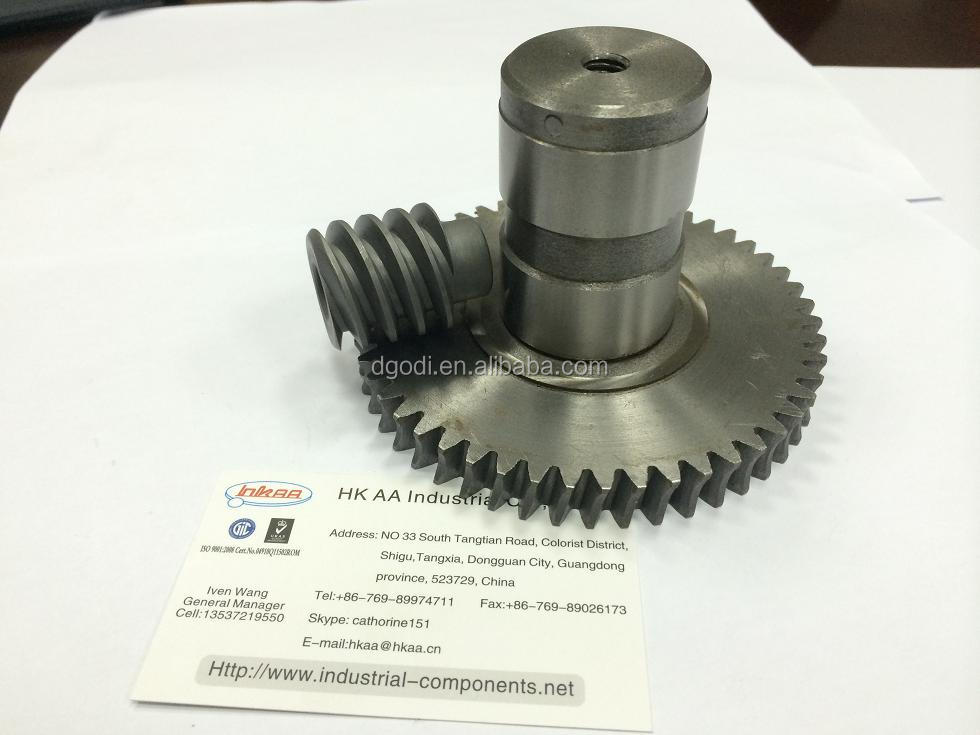 Custom advantages and disadvantages of steel worm gears