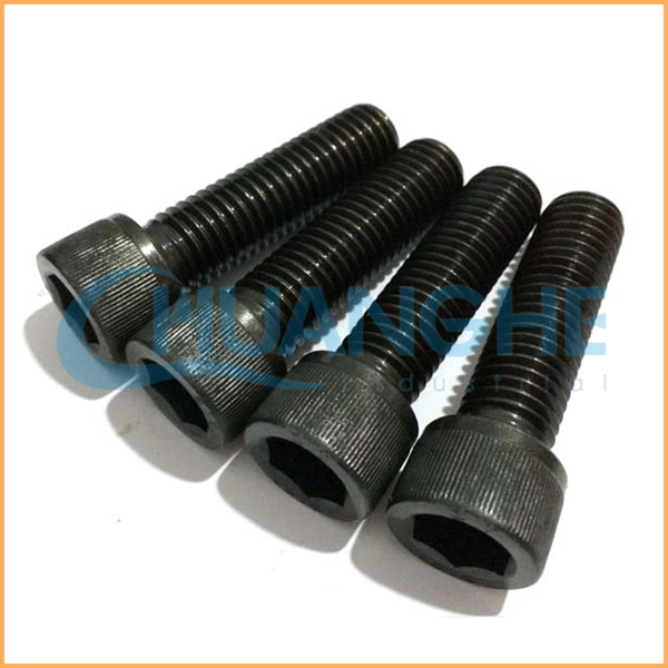Dongguan factory direct supply anodising red aluminum socket head cap screws