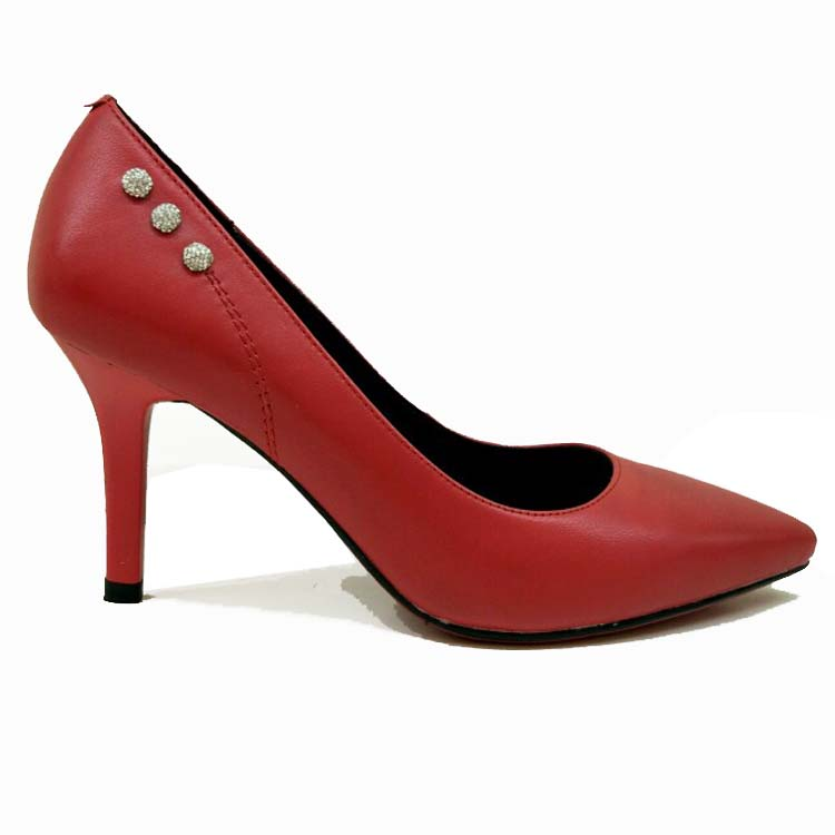 039-C83 red slim heel Turkish women leather wedding shoes