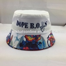 Custom print bucket hat/Cheap bucket hats/wholesale all over printing bucket hats