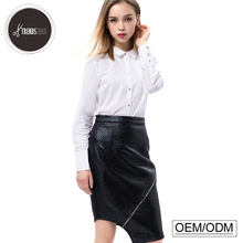 OEM office women shirt latest fashion design ladies skirt suits women