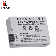 For Canon LP-E8 Hot New Product Digital Camera Rechargeable 7.4V 1200mAh Digital lithium battery