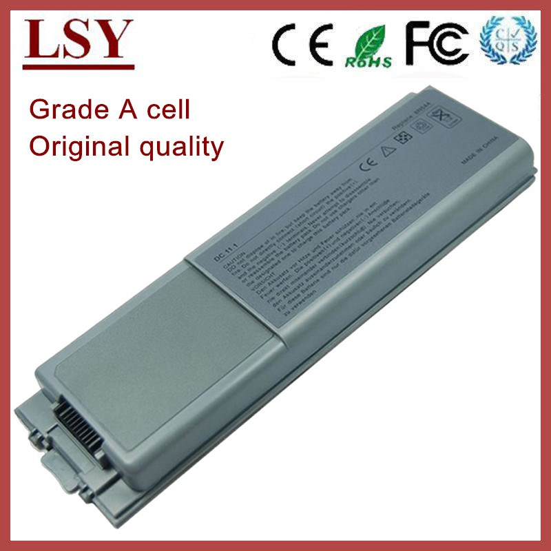 Original quality laptop battery for dell Latitude D800 precision M60 Inspiron 8500 8600 8N544 replacement battery for notebook