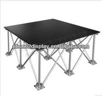 New design event,activity mobile solid stage,aluminium portable stage with step