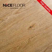 AC4 8mm hdf core board embossed surface waterproof V-groove painted hdf wooden plastic laminate flooring