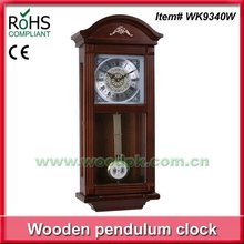 Classical large antique wall clock wooden pendulum wall clocks