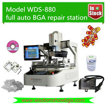 Full automatic pcb soldering machine WDS-880 bga chips repair equipment xbox iphone laptop motherboard repairing