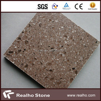 solid light artificial quartz stone for wall/paving