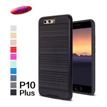 Hot selling cheap brushed metal mobile phone cover for huawei p10 plus