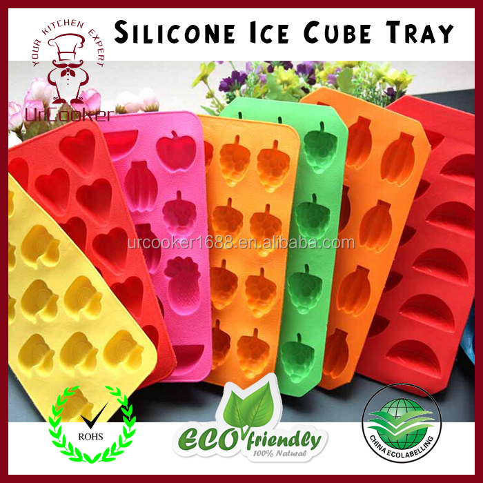 Wholesale silicone ice tray /Food grade silicone/single animal shape silicone ice ball