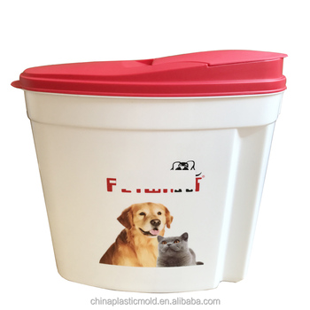 Pet Feed container/ food storage container / Plastic cereal container