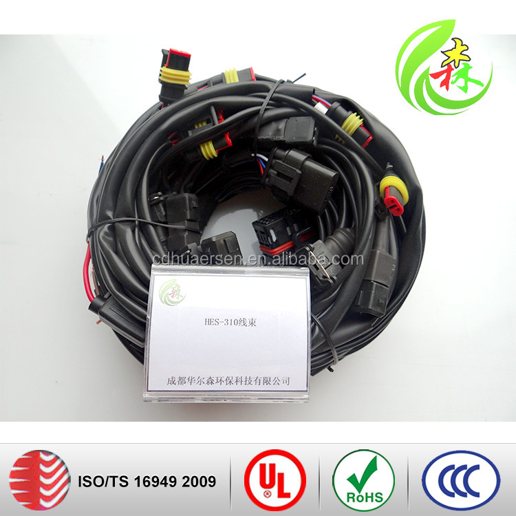 wiring harness & cable assembly Manufacturer Good quanlity Auto Extender connector wire harness cable