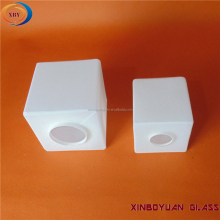 Square Glass Light White Color Lamp Glass Shade For Lamp