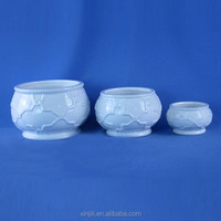 OEM Home Glazed Ceramic Decorative Garden