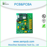 Bare Board Mobile Phone Fr4 1.6mm copper clad laminate pcb