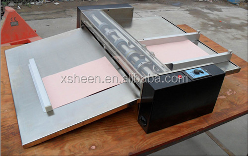 manual paper creasing machine for a3 a4 size. paper creasing machine