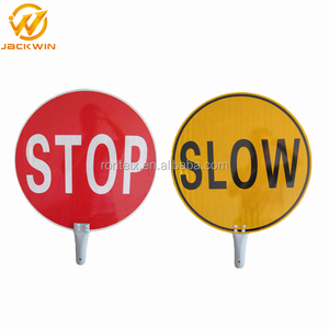 2015 Best Selling Products Reflective Stop Road Traffic Signs
