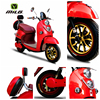 2016 hot sell new design mini 2 wheels electric motorcycle on sell