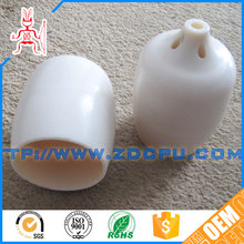 Custom protective best delivery custom plastic end cap for tube