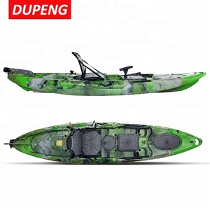 Universal Sit On Top Kayak Riptide Angler 350cm Roto Molded Polyethylene Single Seater Fishing Kayak