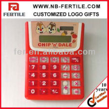 610772 Logo Printing Gift Promotional Plastic Calculator